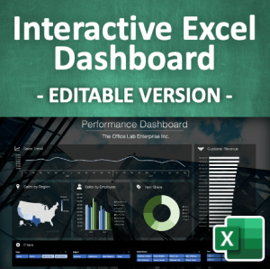 Interactive Excel Dashboard | Product Image min
