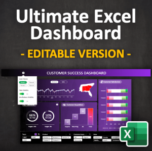 Ultimate Excel Dashboard | Product Image min